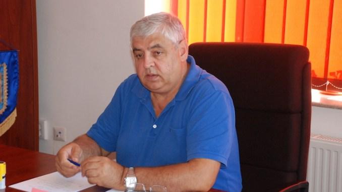 Iustin Urdea, primarul comunei Limanu. FOTO Editia de Sud