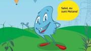 Metano, mascota lecțiilor despre energie