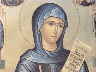 Sfânta Cuvioasă Parascheva. FOTO Arhiepiscopia Tomisului