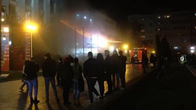 Incendiu la Culture Club din Constanța. FOTO Claudiu Palaz