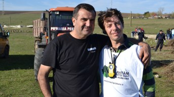 Valentin Vrabie și Cosmin Bârzan. FOTO Adrian Boioglu