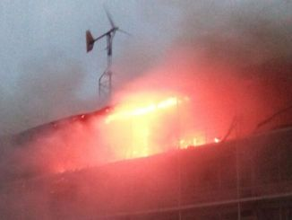 Incendiu Hotelul Histria din Mamaia