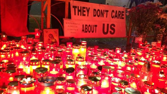 Doliu la Constanța pentru victimele de la Colectiv