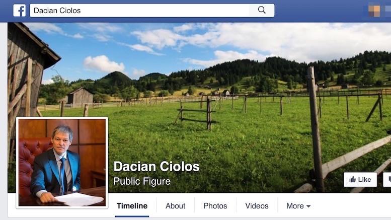 Dacian Cioloș a înțeles puterea Social Media