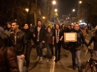 Protest la Constanța