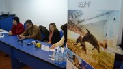 Conferința de final a proiectului DELPHI. FOTO Adrian Boioglu