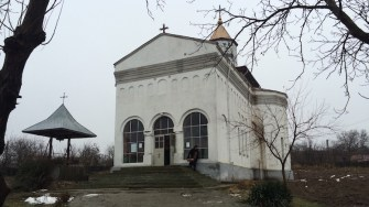 Biserica Sf Ioan Botezatorul din Ivrinezu Mare. FOTO Adrian Boioglu