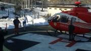 Elicopterul SMURD la Cernavodă