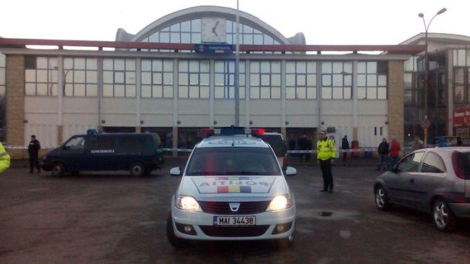 Alarmă cu bombă la Gara Constanța