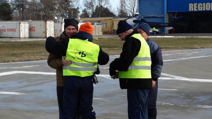Adrian Constandache la Aeroportul Tuzla. FOTO Andrei Tita