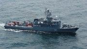 Un dragor maritim în Marea Neagră. FOTO navy.ro