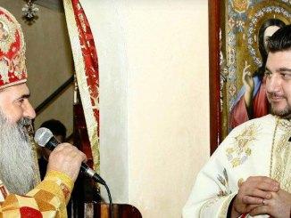 IPS Teodosie și preotul Marinel Pădure