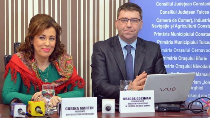 """Corina Martin și Dragoș Gociman sunt inițiatorii """"Litoralul pentru ruși"""""""