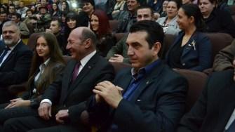 Claudiu Palaz și Traian Băsescu. FOTO Adrian Boioglu