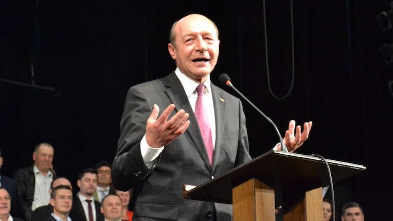 Traian Băsescu. FOTO Adrian Boioglu