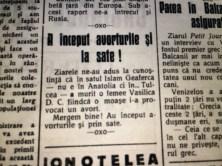 Un articol din ziarul Farul