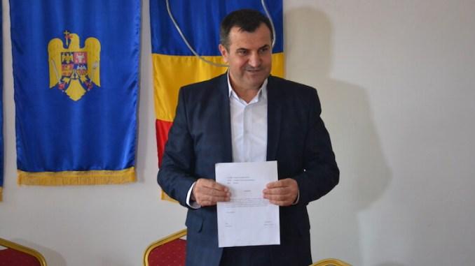 Primarul Valentin Vrabie și-a dat demisia. FOTO Adrian Boioglu