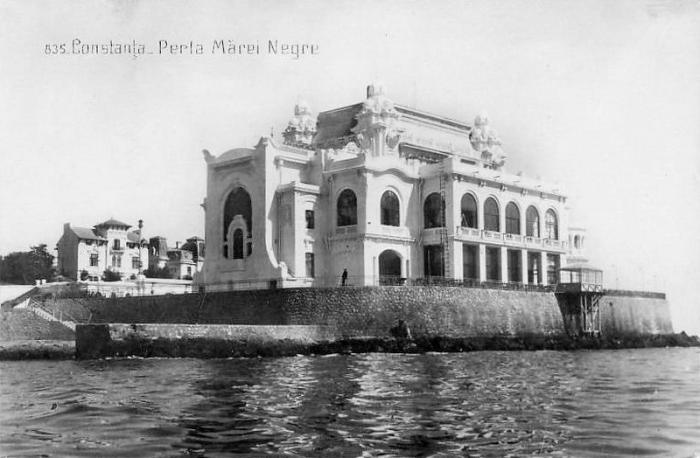 Cazinoul din Constanța în anii '30. FOTO Wikimapia