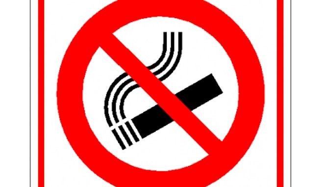 Fumatul interzis!