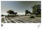 Planul inițial prevedea un zid mult mai . FOTO Primaria Mangalia