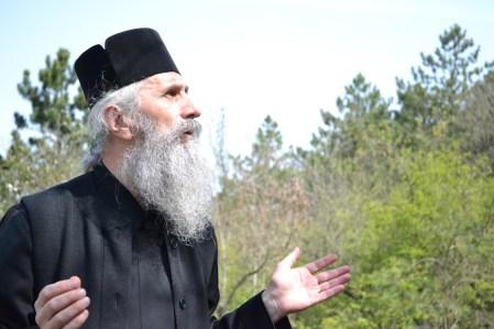 Părintele Ilarion de la mănăstirea Crucea. FOTO Adrian Boioglu