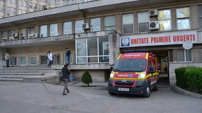 Autospecială SMURD la Spitalul de Urgență Constanța. FOTO Adrian Boioglu