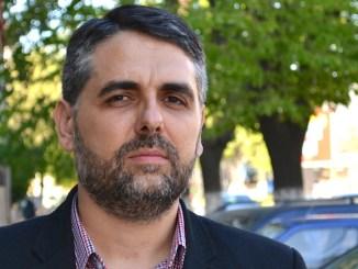Marius Petre, candidat la Primăria comunei Peștera. FOTO Adrian Boioglu