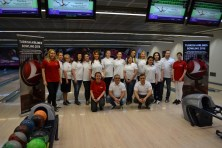 Câștigătorii Turkish Airlines Bowling Tournament. FOTO Adrian Boioglu