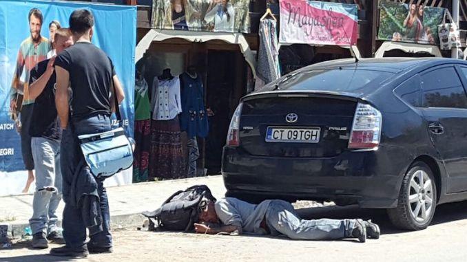 Vamaiot care doarme pe stradă