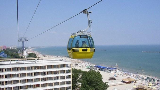 Telegondola Mamaia. FOTO litoralulromanesc.ro