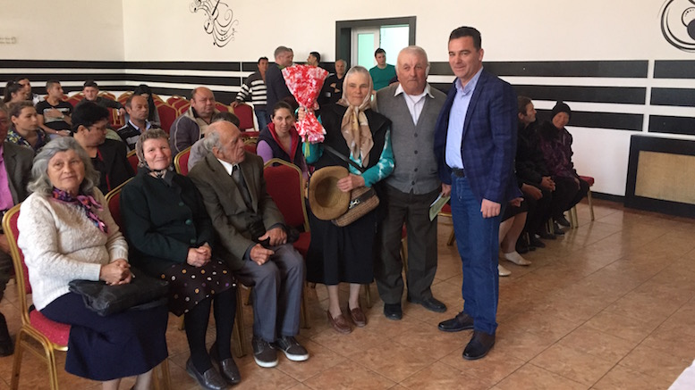 Premiere veteranii comunei Peștera. FOTO D. H.