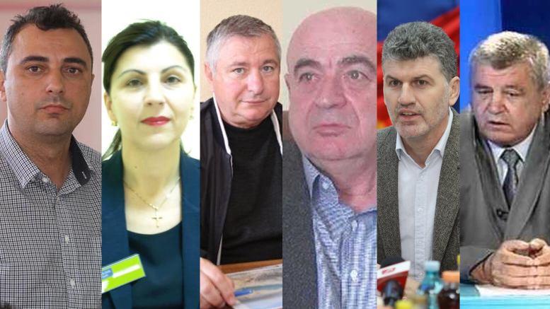 Candidații PSD în orașele constănțene. FOTO colaj Constanța NEWS