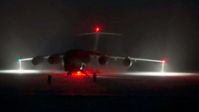 Aeronava C17. FOTO Antarctic Sun