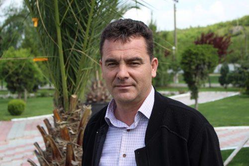 Tudorel Grosu, primarul interimar al comunei Peștera. FOTO Adrian Boioglu