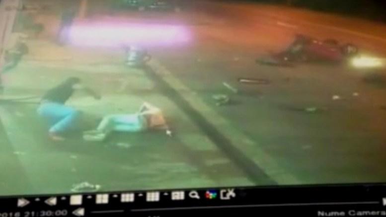 Accident grav în zona CET Constanța