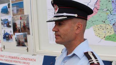 Daniel Petrov, comandant ISU Dobrogea. FOTO Adrian Boioglu