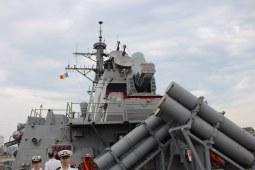 USS Porter în Portul Constanța. FOTO Adrian Boioglu