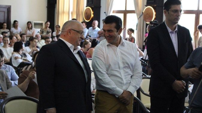 Felix Stroe și Claudiu Palaz. FOTO Adrian Boioglu