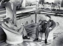 """Churchill La bordul yachtului """"Christina O"""""""