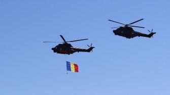 Elciopterele Puma Naval la Ziua Marinei Române. FOTO Adrian Boioglu