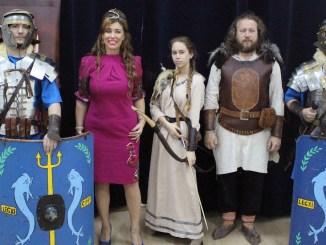 Festivalul Antic Tomis și Corina Martin. FOTO Adrian Boioglu