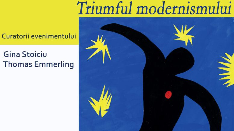 Afișul expoziției de la Muzeul de Artă Constanța