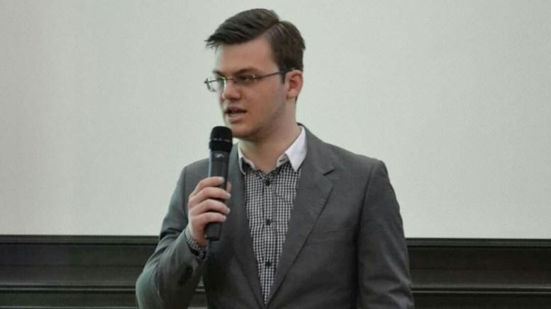 Alexandru Bajdechi, președintele Federației Tinerilor din Constanța. FOTO Adrian Boioglu