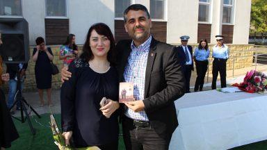 Profesoara Ana Maria și profesorul Marius-Liviu Petre. FOTO Adrian Boioglu