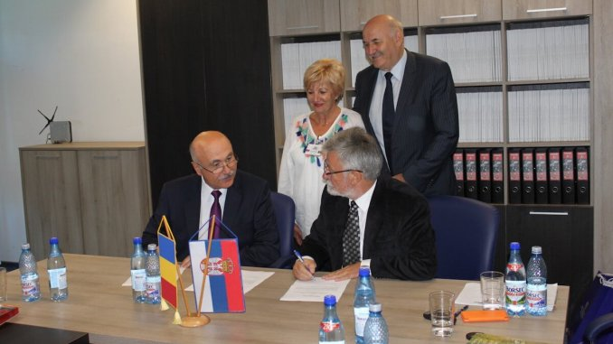 Acord româno-sârbesc la CCINA Constanța