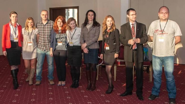 O parte din echipa JCI Constanța