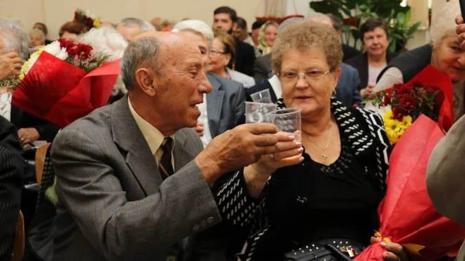 Cele mai longevive cupluri din Medgidia. FOTO Primăria Medgidia