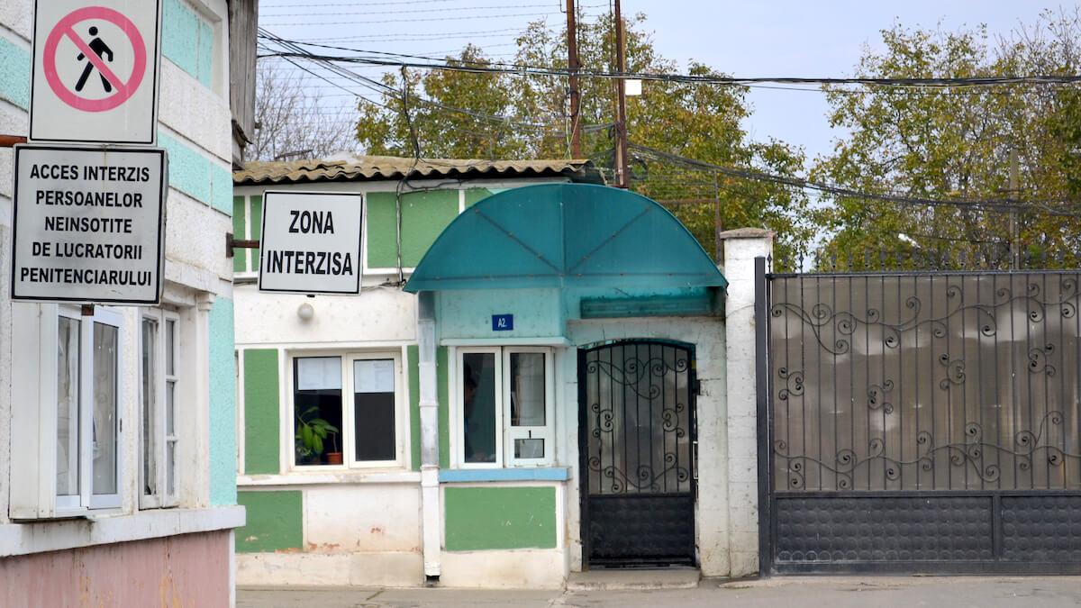 Penitenciarul Poarta Albă. FOTO Adrian Boioglu