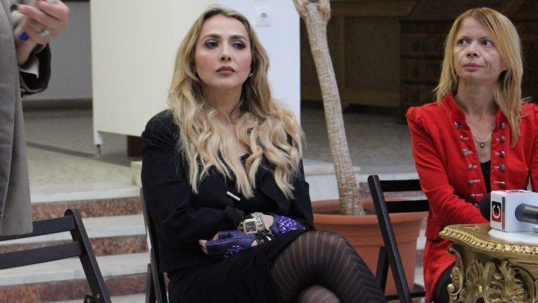 Oana Calsusa și-a lansat cartea la Constanța. FOTO Adrian Boioglu