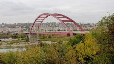 Podul Sfânta Maria din Cernavodă. FOTO Adrian Boioglu